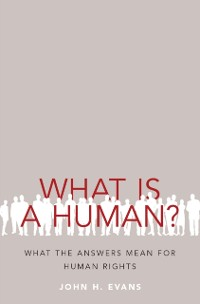 Cover What Is a Human?