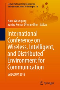Cover International Conference on Wireless, Intelligent, and Distributed Environment for Communication