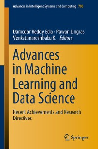 Cover Advances in Machine Learning and Data Science