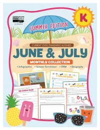 Cover June & July Monthly Collection, Grade K