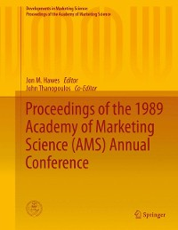 Cover Proceedings of the 1989 Academy of Marketing Science (AMS) Annual Conference