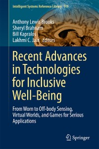 Cover Recent Advances in Technologies for Inclusive Well-Being