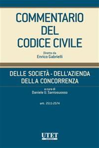 Cover Delle società - Dell'azienda - Della concorrenza, artt. 2511-2574 - vol. IV