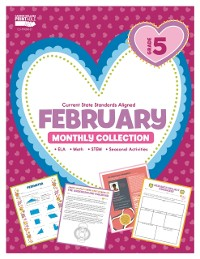 Cover February Monthly Collection, Grade 5