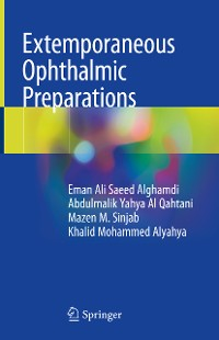 Cover Extemporaneous Ophthalmic Preparations