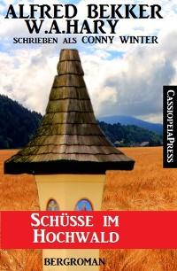 Cover Schüsse im Hochwald: Bergroman