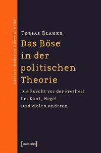 Cover Das Böse in der politischen Theorie