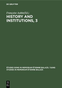 Cover History and Institutions, 3