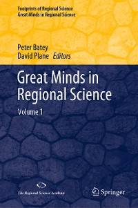 Cover Great Minds in Regional Science