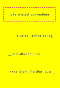 Cover Fake Missed Connections