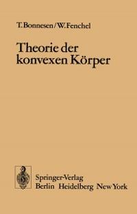 Cover Theorie der konvexen Korper