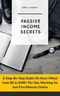 Cover Passive Income Secrets