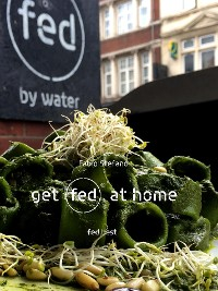 Cover get fed at home