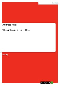 Cover Think Tanks in den USA