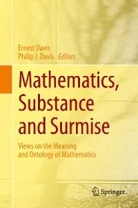 Cover Mathematics, Substance and Surmise