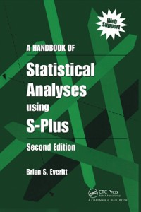 Cover Handbook of Statistical Analyses Using S-PLUS