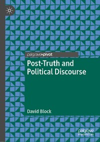 Cover Post-Truth and Political Discourse