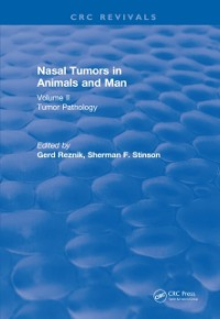 Cover Nasal Tumors in Animals and Man Vol. II (1983)
