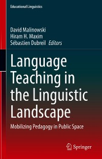 Cover Language Teaching in the Linguistic Landscape