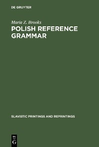 Cover Polish Reference Grammar