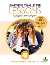 Cover Learning Challenge Lessons, Secondary English Language Arts