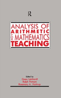 Cover Analysis of Arithmetic for Mathematics Teaching