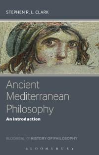 Cover Ancient Mediterranean Philosophy