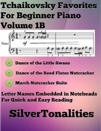 Cover Tchaikovsky Favorites for Beginner Piano Volume 1 B