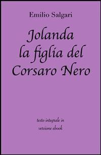 Cover Jolanda la figlia del Corsaro Nero di Emilio Salgari in ebook