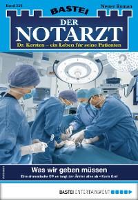 Cover Der Notarzt 358 - Arztroman