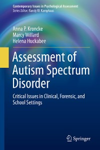 Cover Assessment of Autism Spectrum Disorder