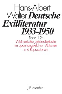 Cover Deutsche Exilliteratur 1933–1950