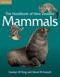 Cover The Handbook of New Zealand Mammals