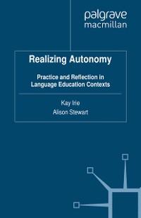 Cover Realizing Autonomy