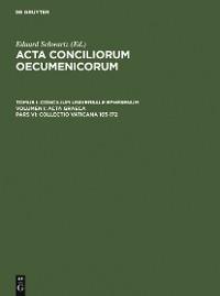 Cover Collectio Vaticana 165-172