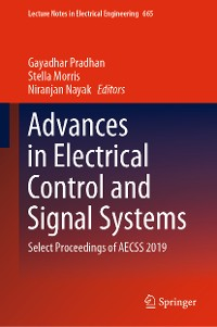Cover Advances in Electrical Control and Signal Systems