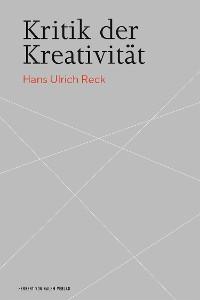 Cover Kritik der Kreativität