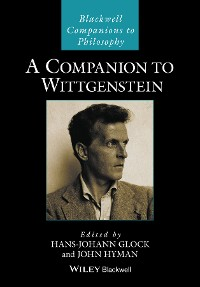 Cover A Companion to Wittgenstein