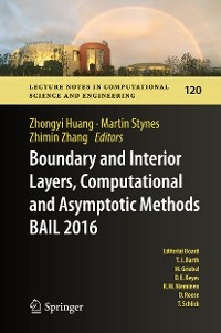 Cover Boundary and Interior Layers, Computational and Asymptotic Methods  BAIL 2016