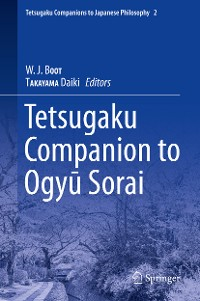 Cover Tetsugaku Companion to Ogyu Sorai