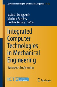 Cover Integrated Computer Technologies in Mechanical Engineering