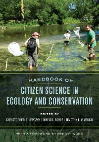 Cover Handbook of Citizen Science in Ecology and Conservation