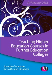 Cover Teaching Higher Education Courses in Further Education Colleges