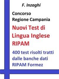 Cover Concorso Regione Campania  - I test RIPAM di lingua inglese