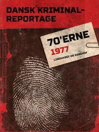 Cover Dansk Kriminalreportage 1977