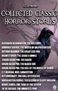 Cover Collected Classic Horror Stories. Illustrated