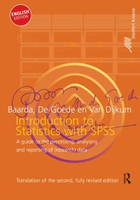 Cover Introduction to Statistics with SPSS