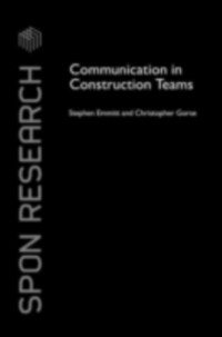 Cover Communication in Construction Teams