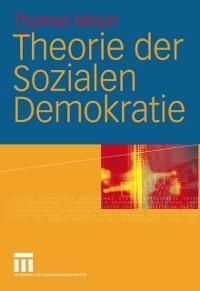 Cover Theorie der Sozialen Demokratie