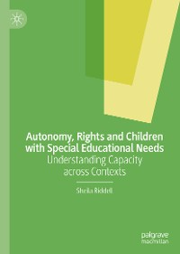 Cover Autonomy, Rights and Children with Special Educational Needs